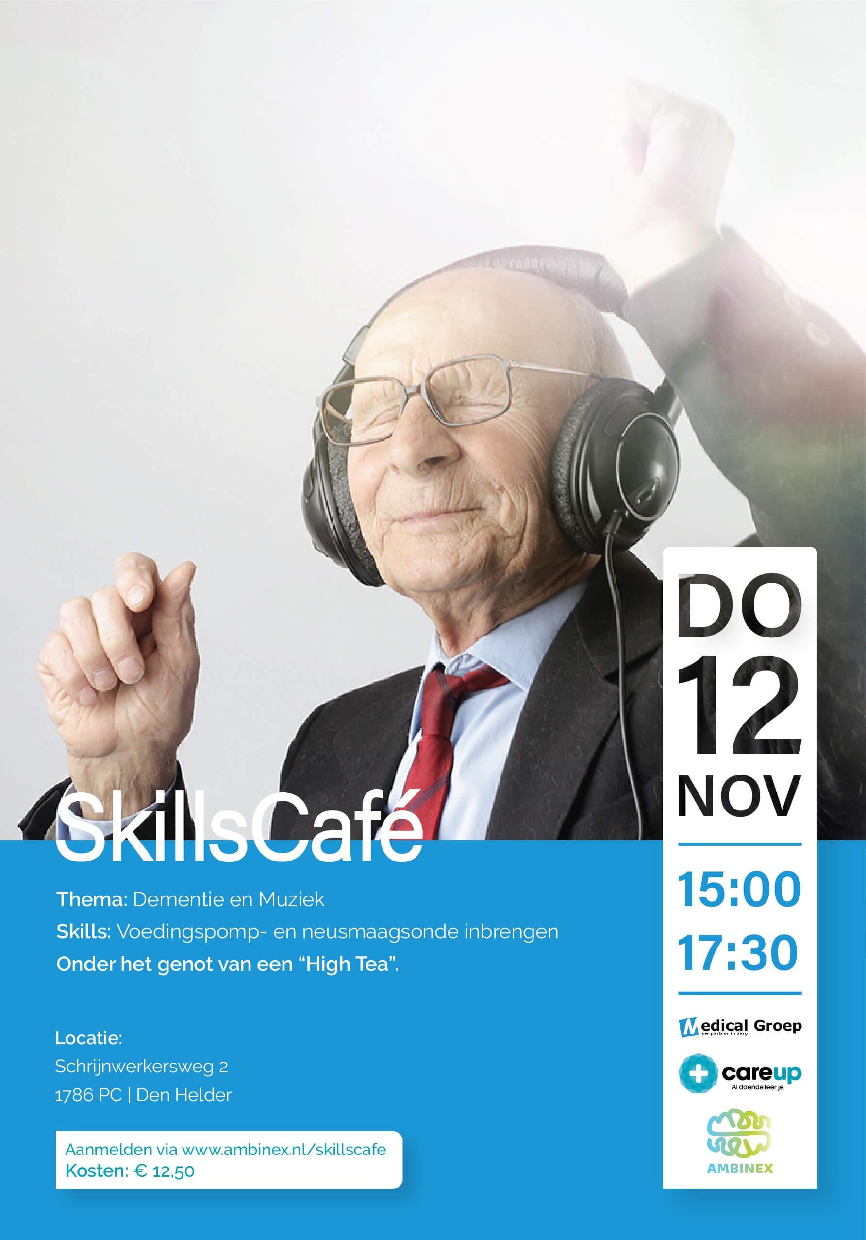 Skillscafé Den Helder - Dementie & muziek - 12 november