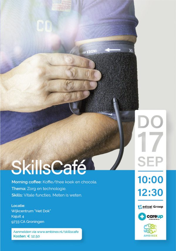 Skillscafé Groningen - Zorg & technologie - 17 september